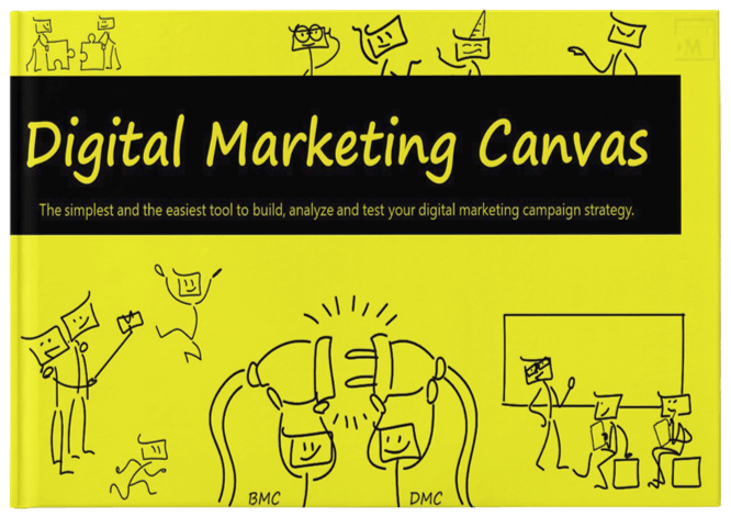Cover of Digital Marketing Canvas E-book